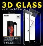 protecteur d'écran de verre trempé de téléphone portable de pleine couverture de 3D 0,15 millimètre 9H pour Iphone 7/7plus
