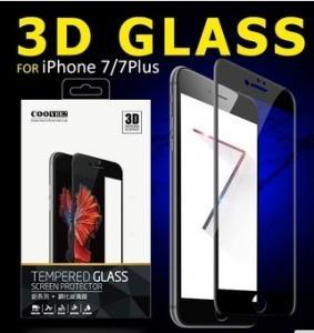 Buy cheap 3D 0.15 Mm 9HのIphone 7/7plusのための完全な被蓋細胞の電話緩和されたガラス スクリーンの保護装置 product