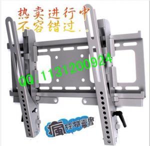 China LCD LED PLASMA TV WALL MOUNT TILT BRACKET  Professional  LCD monitor wall shelf on sale