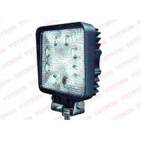 China Square 24W LED Truck Work Lights12V ATV Lights with Stainless Steel Bracket PC Lens on sale