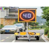 China P16mm Outdoor Traffic LED Display Electronic Speed Limit Sign Size Can Be Customized on sale