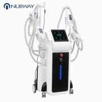 Buy cheap Weight loss 4 handles coolshaping cryolipolysis fat frezzing machine 2018 beauty machine from wholesalers
