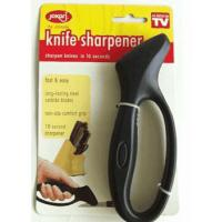 Buy cheap FDA Disposable Kitchen Knife Sharpener Black With Handle 16 * 5.5cm from wholesalers