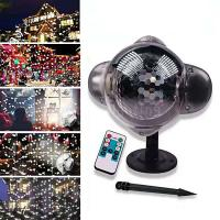 Buy cheap Hot Sale Mini Snowflake Christmas Projection Lights Outdoor Waterproof Snow Landscape Lights product