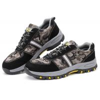 China Customized Lightweight Industrial Safety Shoes , Anti Alkali Casual Safety Shoes on sale