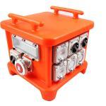 Buy cheap EN60439 4 Portable Power Distribution Unit, UV8 Resistance Spider Electrical Box product