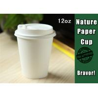 China Eco Friendly 12 Oz Double Wall Paper Cups Takeaway Type For Hot Drinking on sale