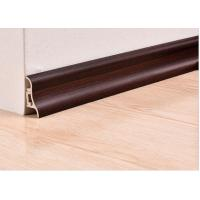 Buy cheap Luxury Wooden White Plastic PVC Decorative Skirting Boards / Cover For Veranda product