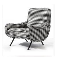 Buy cheap Classic Retro Modern Upholstered Sofa Living Room Fabric Armchair HY-C357 product