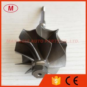 China GT18 704580-0001/704580-0016 39.75/44.30mm 9 blades turbocharger turbo wheel/ turbine Shaf on sale