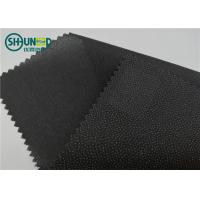 Buy cheap Eco Friendly Drill Fusing Woven Interlining Broken Twill Weave For Garment product