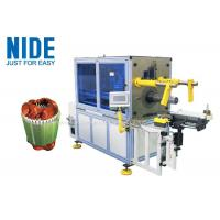 Buy cheap Electric Motor Stator Winding Inserting Machine with horizontal frame design product