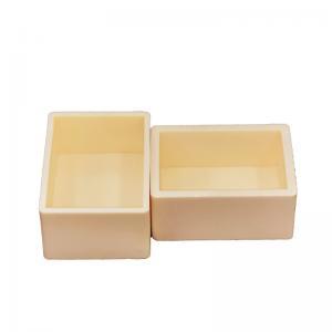 Buy cheap Furnace 99% Alumina Ceramic Trays / Sagger product