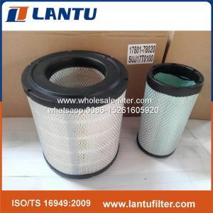 Buy cheap 良質のHINOのための17801-78020+SUJ17T0100エア フィルター product
