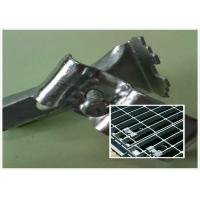 Buy cheap Stainless Steel Bar Grating Clips , End Plate Welding Bar Grating Fasteners product