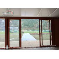 Buy cheap Customized Steel Frame 5x5m Glamping Safari Tent For Outside Event Or Hotel product