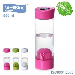 China PET Material Drinking Alkaline Water Bottle , Alkaline Mineral Water Ionizer Bottle on sale