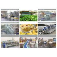 Buy cheap 380V Commercial Food Canning Equipment Fresh Cut Fruit / Vegetable Production Line from wholesalers