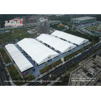 Buy cheap Aluminum Frame Exhibition Tent Water-proof Fire Retardant PVC Cover from wholesalers