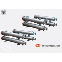 Buy cheap ISO Approved Shell & Tube Stainless Steel Heat Exchanger 30 hp Refrigeration Evaporator product