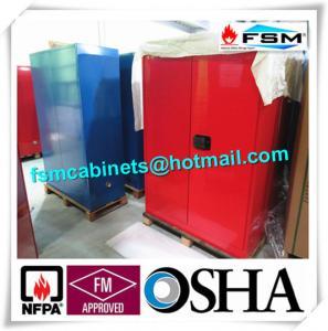 Buy cheap Meubles de rangement combustibles chimiques, Cabinets de sécurité du travail pour les marchandises dangereuses product