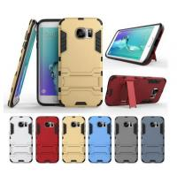 China Defender Dual Hybrid Armor Bracket Stand Case For iphone 5 6 plus note 4 7 S6 S7 Protective tpu pc Shockproof Cover wholesale