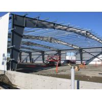 Customized Durable Pre-engineered Building Steel Q235 / Q345 Grade