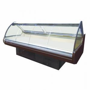 China Supermarket Deli Display Fridge Showcase With Front Sliding Glass Door on sale