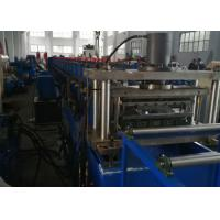 Buy cheap GCR15 Roller Material Rack Shelf Cold Roll Forming Machine with Cr12Mov product