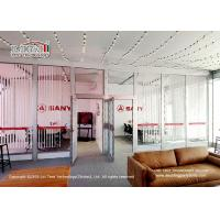 Buy cheap High Quality Aluminum Cube Structure Exhibition Tent Glass Hard Wall Exhibition product