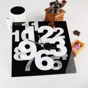 Buy cheap Relojes de pared contemporáneos del arte de acrílico de la decoración de la pared para el dormitorio LY-056 product