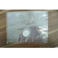 Quality Clear Food Saver Vacuum Seal Bags With 3 Side / Double Valve Vacuum Seal Storage Bags for sale