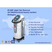 China IPL+ RF elight  hair removal and skin rejuvenation beauty machine With Two Handles wholesale
