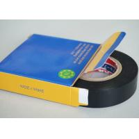 China Black 0.2MM Thickness PVC Electrical Tape Rubber SGS And ROHS Certificate on sale