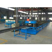 China Automatic Punch Steel Cable Tray Roll Forming Machine Photovoltaic Stents on sale