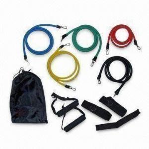 Buy cheap O grupo da faixa da resistência, inclui a âncora da porta, a correia do tornozelo e o saco preto do curso product