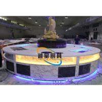 Quality Marble Commercial Buffet Tables / Buffet Display Equipment Salad Bar Buffet for sale