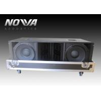 Buy cheap Double 12 Inch  Line Array Speakers , Three Way Stage Sound Equipment product
