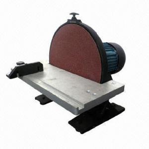 China 12 300mm Disc Sander with Manual Brakem, CE-/ETL-approved on sale