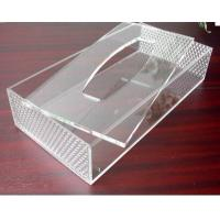 Buy cheap Hot Sell Red Acrylic Tissue Box for Hotel product