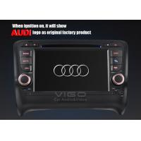 Buy cheap Rear / Front USB Audi Sat Nav DVD for TT with PAL NTSC SECAM TV Systems VAA7053 product