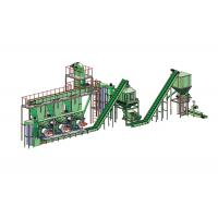 Buy cheap 3-4/h Wood Pellet Plant Biomass Pellet Production Line product