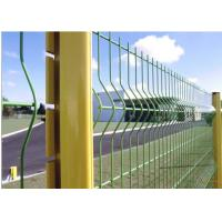 Buy cheap Stainless Steel Highway Fence High Tensile Strength Easily Assembled For Safe Driving product