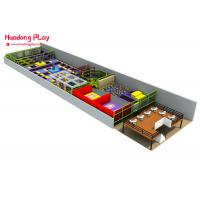 Buy cheap Multi - Function Indoor Trampoline Equipment Commercial 700 Sqm Eco - Friendly product