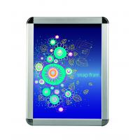 Buy cheap Advertising Silver Snap Frame Poster HolderMitred Corner Various Size product