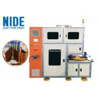 Buy cheap Stator Coil Winding Machine Middle Size Automatic Type Two Stations Structure product