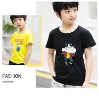 Buy cheap Scoop Neck Children's Style Clothing , Short - Sleeved Cotton Children T Shirt product
