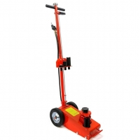 Buy cheap Red Color 35Ton Air Hydraulic Floor Jack With Oil Paint product