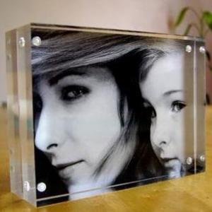 Buy cheap Wholesale acrylic magnetic acrylic photo frame product