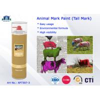 Buy cheap Fast Drying Waterproof Spray Animal Mark Paint for Pig / Sheep / Horse Tail Purple Red Green product